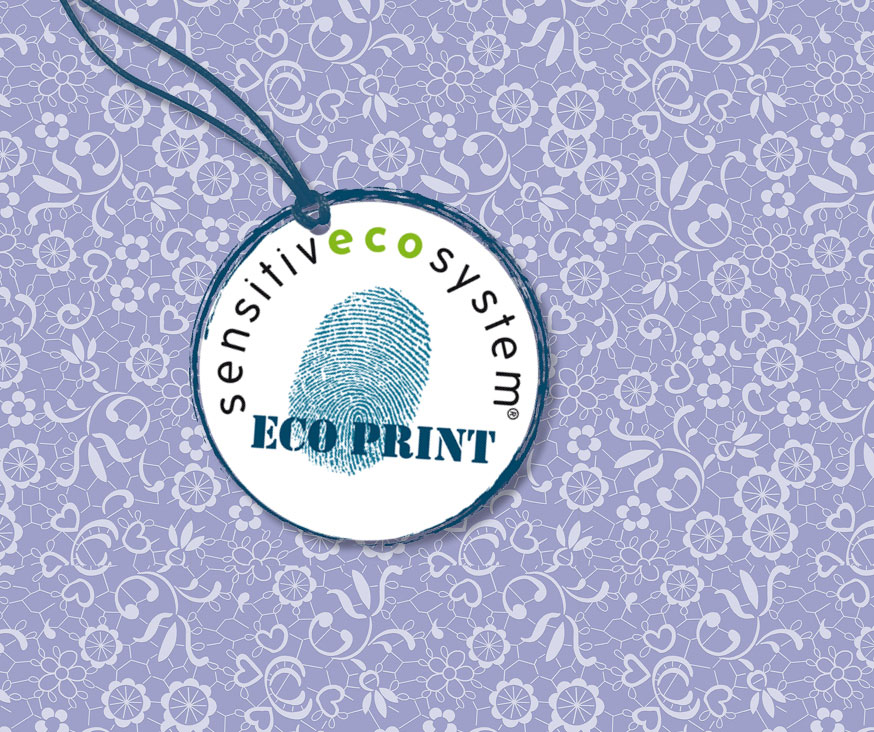 ecoprinted fabric