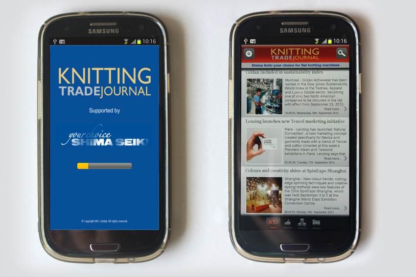 Knitting Trade Journal app