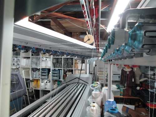 The CMS ADF-3 installed at the Fabdesigns lab in California
