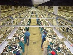 Knitwear factory
