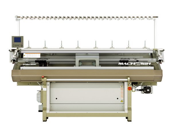The MACH2SIR from Shima Seiki is ideal for the production of intarsia knitwear