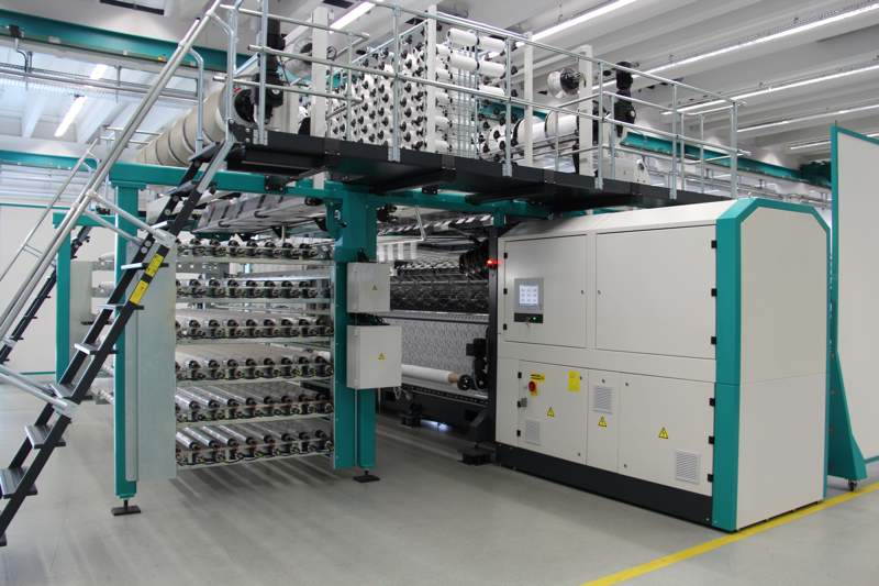 The new TL 79/1/36 Fashion machine is capable of producing innovative Textronic lace