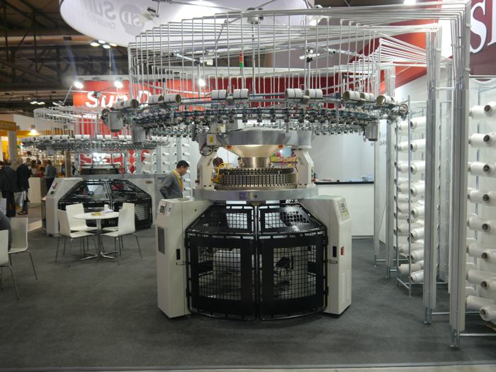 The Sun Da stand at the recent ITMA Milan