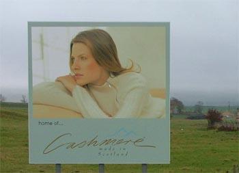 Made in Scotland cashmere