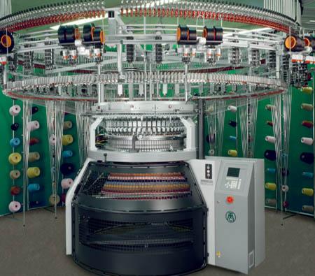 Circular knitting machinery