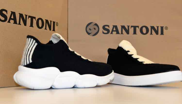 b4e091378e71 Brescia - Seamless knitting machine manufacturer Santoni and wool yarn  specialist Südwolle are collaborating on a new, high performance footwear  concept.