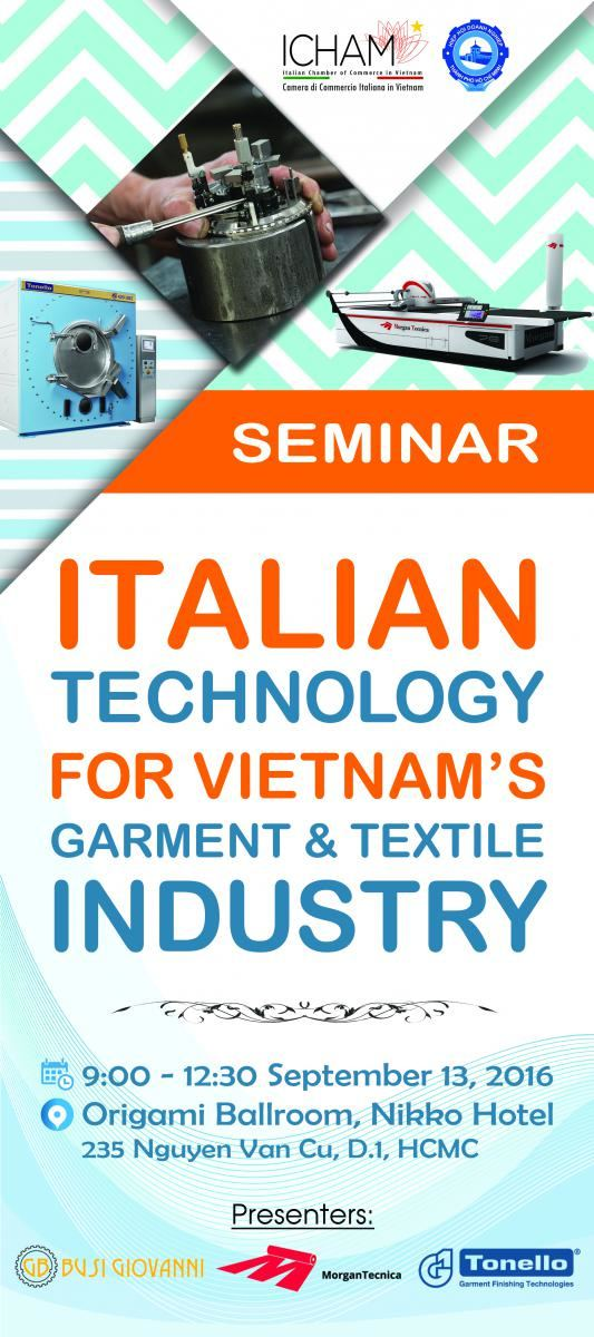 Italian technology for Vietnam's garment and textile industry